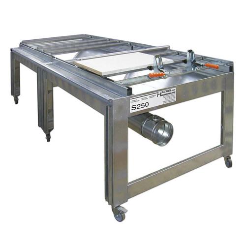 Schleif- und Montagetisch Airfiner S250