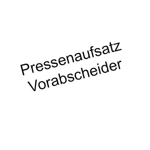 Pressenaufsatz