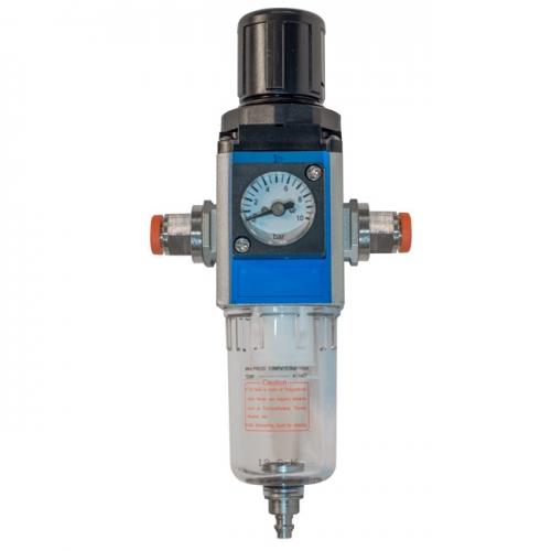 Filterregler mit Kompaktmanometer