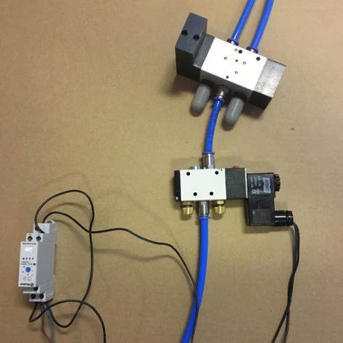 Oszillierende Steuerung mit Zeitrelais für Airfiner Filter Abrüttelung